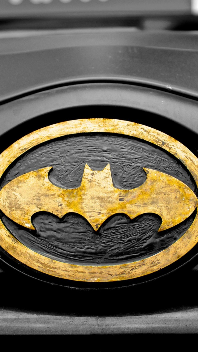 1419 Car Superhero Symbol Batman