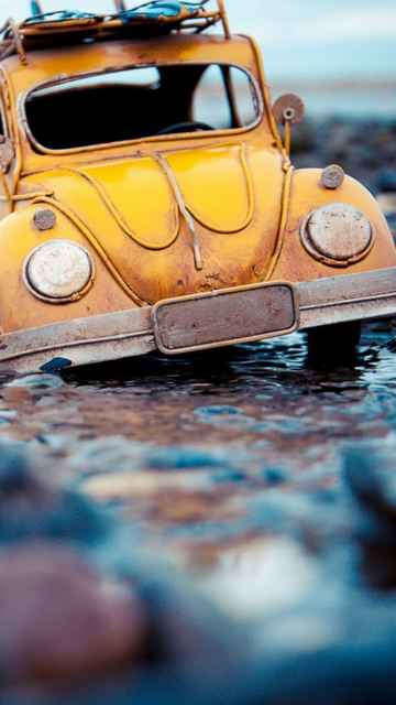 1434 Volkswagen Beetle Toy Water